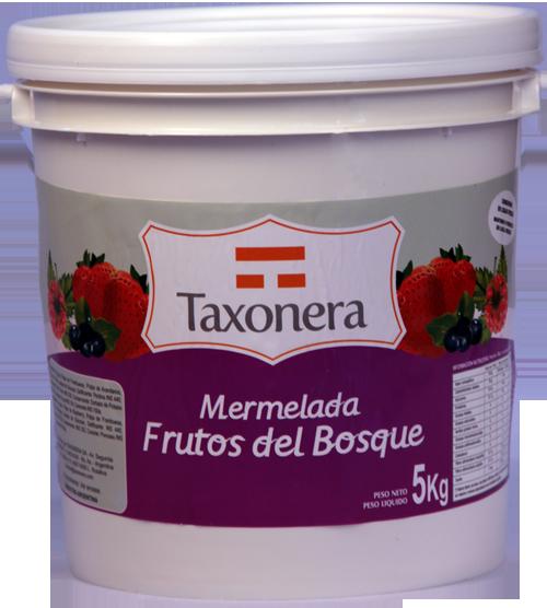 Mermelada Frutos Del Bosque Taxonera Balde 5 Kg Casa Bether